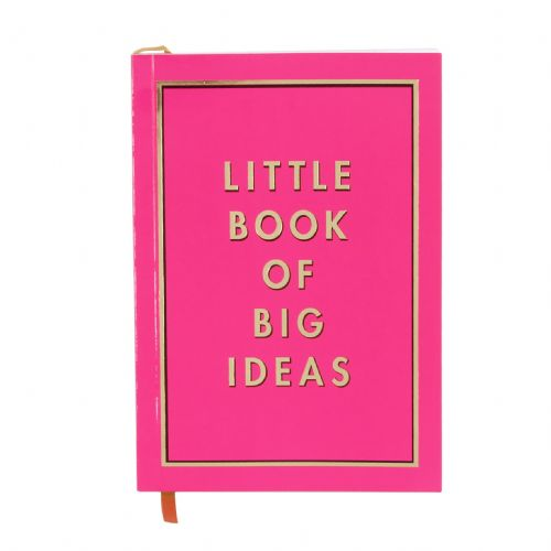A5 Pink Notebook For Students, Home and Office = Pretty Inspirational Designer Note book